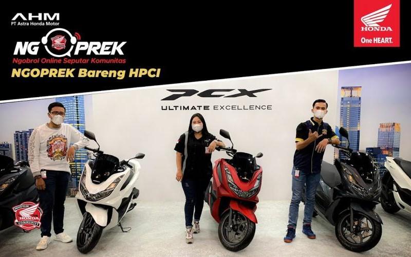 #NGOPREK? All New Honda #PCX160? bareng HPCI (Honda PCX Club Indonesia)