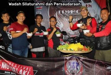 HSFCI Jakarta, Komunitas Motor Laki Wadah Silaturahmi dan Persaudaraan